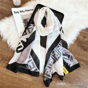 Al por mayor - 2019 Peacesky chales bufandas bufandas de marca de verificación pañuelos de moda de lujo de las mujeres de las mujeres imprimen el hiyab