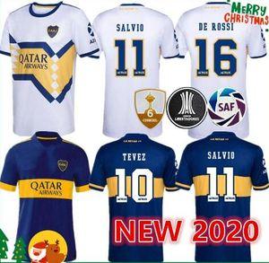 2.020 hombres y niños Kit de 2021 Boca Juniors para adultos jersey de fútbol 20 21 ABILA TEVEZ MARADONA CARLITOS DE ROSSI camiseta de fútbol deportes