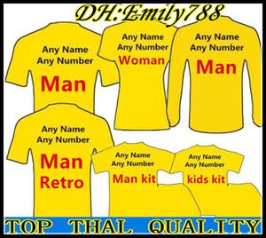 19/20 Équipe de clubs Top football de qualité 2019 N'importe quel Homme Femme Kit de Football Maillots T-shirts Laissez le message de l'équipe personnaliser