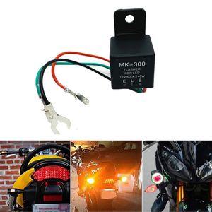 Flasher Relay Moto 3 pin a frequenza variabile relè LED del lampeggiatore segnale di girata della luce BlinkerF ha portato a 3 pin