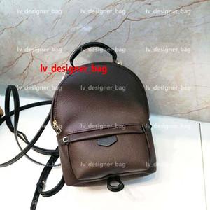 Designer Mochila Mini Luxo Palm Springs Mochila Bolsa Crianças Bolsa Escola Backbag Mulheres Moda Impressão Couro Back Pack M41562