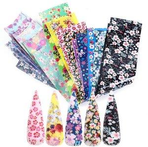 Tatyking Nail Star Paper горячие продажи модели ногтей сплошной цвет небольшие цветочные наклейки передачи наклейки для ногтей DIY для салона MJ0162
