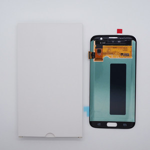 Para Samsung Galaxy S7 Edge G935 Display OEM AMOLED Screen Touch Painéis sem quadro
