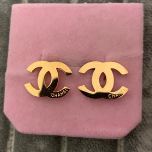 Никогда не увядают простые серебряные серьги-гвоздики с буквами из нержавеющей стали 316L 18k gold rose Women kids big small Earrings factory wholesale