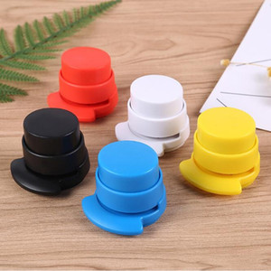 Creative Mini Needle Less Stapler Multi Plastic Stapleless Stapler Stationery Desk Accessories Office & School Supplies HA630
