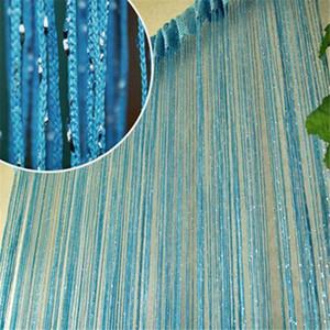 Linha de Cordas Soild prata Silk Tulle Curtain Tassel Francês janela da porta de Tópico cortinas Triagem Cortinas Persianas cortinas