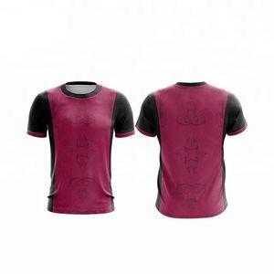 los deportes de fitness camiseta para correr, camiseta, bádminton personalizada camisas de los hombres / mujeres