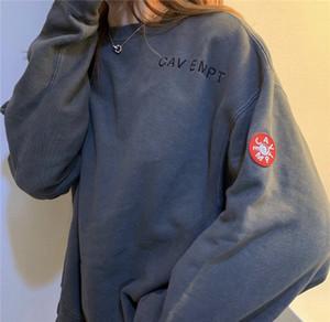 C.E CAV empt 19AW Triko Dijital Baskı Sonbahar Kış Casual Unisex Ceketler Saf Pamuk Yüksek Kalite Wear