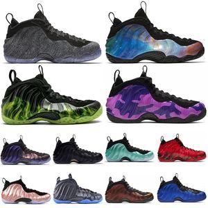 nike air foamposite one Scarpe da basket da uomo vandalizzate Penny Hardaway Foam One KNICK Melanzane alternate in pile da uomo Scarpe da ginnastica Athletic Sports Sneakers 7-13