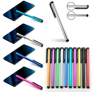 Capacitiva Stylus Pen Touch Screen Pen para ipad para iPhone para Samsung Tablet PC com saco de OPP