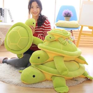 1pc 35cm Plüschtier Plüsch-Schildkröte mit Federn Baumwolle weicher Kissen-Plüsch-Spielzeug für Mädchen Weihnachtsgeschenk