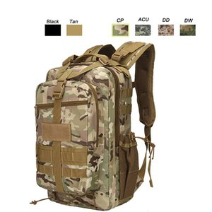 Outdoor Sports Waterproof Tactical Pack Bag  Rucksack   Knapsack   Assault Combat Camouflage Tactical Camo Molle 30L Backpack P11-006