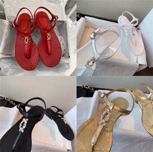 Sandals For Women 2020 New European And American Flat Heels Slippers For Women 9090#245