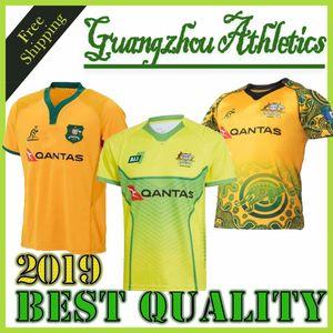 2018 2019 AUSTRALIA WALLABIES JERSEY 18 19 Maglie da rugby NRL Camicia National Rugby League Camicie wallabies australiane s-3xl