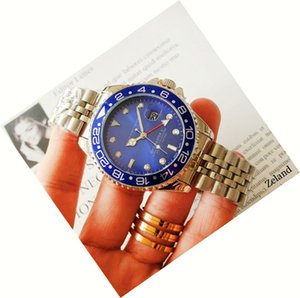 높은 품질 비즈니스 Automtic 기계 럭셔리 남성 시계 모든 포인터 일 스테인레스 스틸 밴드 사업 relogio masculino 시계
