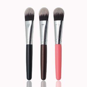 1шт профессиональный макияж кисти жидкий BB CC крем основа смешивания макияж кисти 3 цвета лица кисти красоты косметические инструменты