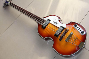 Wholesale New Arrival 4String Electric Bass Guitar Made of Mahogany In Sunburst 130101