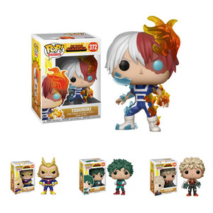 Pop aksiyon figürleri oyuncak kutusu çocuklar oyuncakları DHL ZSS264 ile 4 stilleri PVC anime figürü Doll oyuncaklar Funko My Hero Academia