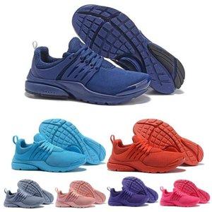 Designer di lusso Sneakers PRESTO 5 BR QS Breathe Nero Bianco Giallo Rosso Mens Trainers donne uomini caldi casual Calzature Scarpe da corsa 36-45