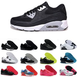 Mens 90 Shoes Airs 90s Essential Black White Classic Surface Max Sports Outdoor Athletic Trainers Sneakers