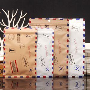 Meias embalagem Bag Envolva alumínio em forma de película de embalagem Bag Cueca Vest Stocking Pacote Bolsas Styles Inglês