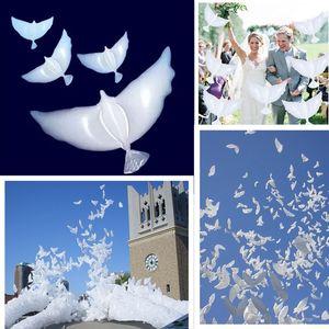 Cartoon White Pigeon Palloncino in alluminio per decorazione della festa nuziale Peace Pigeons Sky Balloons Wedding Dove105 * 42cm