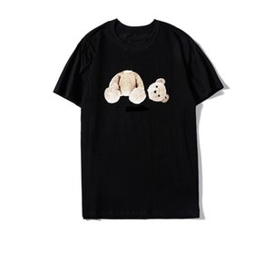 45A60# Hot European Brand bear Cloth printing Sweatshirts Cotton Autumn Unisex Hoodies Casual Streetwear Jogger Tracksuit