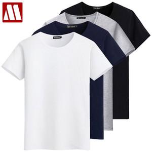 Nuova Moda girocollo 3 Pezzi / Lotto estate maglietta dell'uomo cotone di base magliette casual qualità maschio di alta T-shirt solido delle parti superiori S-5XL Y200422