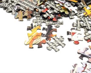لغز الكبار البسيطة 1000 قطعة بانوراما تخفيف الضغط لعبة لعبة هدية منزل رصيف الحجر