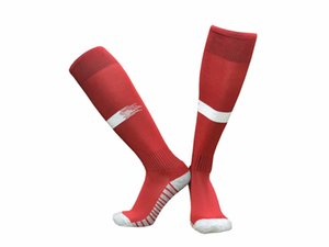 Топ качество Мужчины Длинные Спортивные носки дышащая Открытый футбол носки Мужской Твердая Толстый Человек Футбол Носок Профессия Спорт носки Футбол одежда 0178