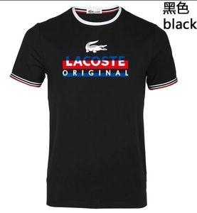 19 ss camisetas para hombre mujer marca de gran tamaño logo camisa de verano casual para hombre camiseta moda marea carta de impresión de manga corta tops