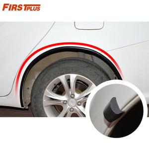 Automobile Universal Wheel Eyebrow Anti-collision Strip SUV Wheel Eyebrow Modified Protective Strip Decorative Mudguard
