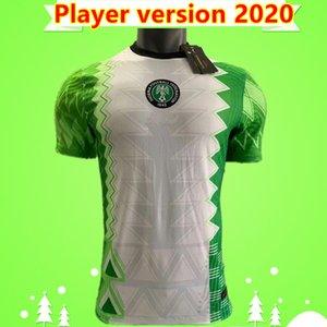 Versión del reproductor 2020 Fútbol casa 20 21 maillot de pie Okechukwu Okocha AHMED NIGERIA MUSA MIKEL Iheanacho 2020 2021 camisetas de fútbol