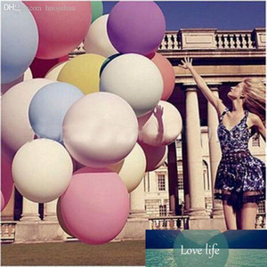 Inches Round Giant Balloon Ball Helium Inflatable Big Large Latex Balloons For Birthday Party Wedding Decoration