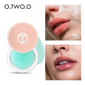 O.TWO.O Moisturizing Lip Balm Lip Scrub Makeup Anti Aging Exfoliating Full Lips Remove Dead Skin Nourishing Lips Care 1002
