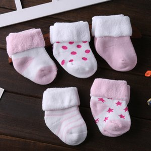 5Pairs lot Cute Baby Girl Cotton Socks Newborn Breathable Lace Short Sock for Baby Girls Clothing CX200606