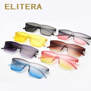 Elitera Square Women Sunglasses Vintage Colorful Sun Glasses Brand Designer Eyeglasse Eyewear Accessories Elitera Square sbYea