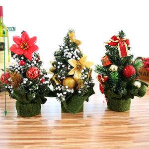 Mini Christmas Trees Xmas Decorations A Small Pine Tree Placed on Desktop Christmas Festival party Decor