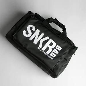 Vendita di modo Duffle Bag Sneakers Borsa di stoccaggio Palestra di grande capienza dei bagagli di Borsa a tracolla borse Stuff Sacks con scarpe Vano