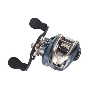 DA2000 Ultralight All metal fishing reel Double brake Black fishing Water droplets wheel Speed ratio: 7.2:1 Carbon rocker