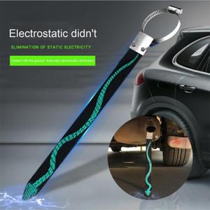 Statik Elektrik Otomotiv ile Tek Bakır Tel Kemer Metal Araba Stil Önlemek Antistatik Oto Elektrostatik Kemer Canceller