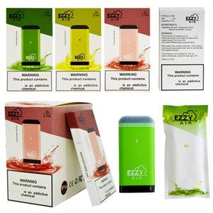 Neueste Ezzy AIR Einwegvorrichtung Pod Vape Pen 2,7 ml Vaporizer 450mAh Akku leer Vape Pen Starter Kit E-Zigaretten Vape Kits