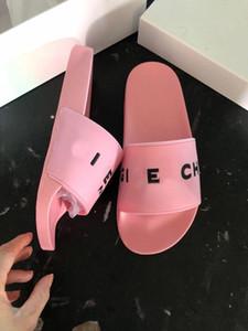 Звезда дизайнер резиновые тапочки мода слайд сандалии тапочки тапочки для мужчин женщин с оригинальной коробке горячий дизайнер унисекс пляж шлепанцы тапочки