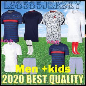 2020 2021 FFF France 2 звезды футбола Джерси mbappe Жир Griezmann Кант 20 21 Franc Зидан HENRY Майо-де-футовые Детские наборы + носки
