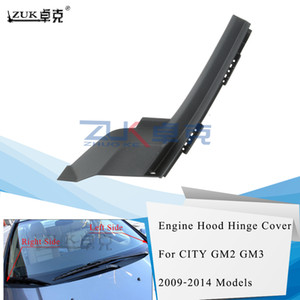 ZUK Engine Hood Hinge Cover For HONDA FIT JAZZ 2005 2006 2007 2008 GD1 GD3 74212-SAA-G00 74222-SAA-G00 For Left Hand Drive Only