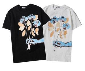 2020 frete grátis novo homens do estilo da e T-shirt do desenhista da marca de moda feminina imprimir designer de t-shirt dos homens skate T-shirt