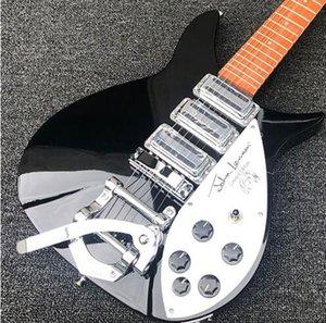 Yüksek kaliteli elektro gitar, Ricken 325 elektro gitar, Backer 34 inç, özelleştirilebilir, ücretsiz kargo
