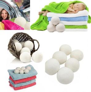Pratik Çamaşır Temiz Topu Kullanımlık Doğal Organik Çamaşır Kumaş Yumuşatıcı Topu Prim Organik Yün Kurutma Topları