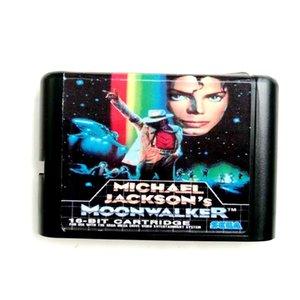 SEGA Genesis Megadrive için Sega Mega Drive 2 için Micheal Jackson Moonwalker 16 bit MD Bellek Kartı
