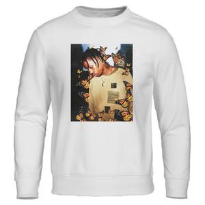 2020 أزياء الخريف الجديدة هوديي ترافيس ScoButterfly رجال هوديس تأثير موسيقى الراب وبلوزات الرجل البلوفرات القمم الهيب هوب